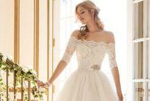Short Wedding Dresses / Short wedding dresses for brides.