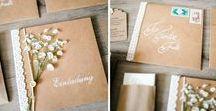 DIY Einladungskarten Hochzeit / Die schönsten und kreativsten DIY Hochzeits-Einladungskarten.  Inspirationen für deine Hochzeitseinladung, da eine persönlich gestaltete Einladung deine Wertschätzung gegenüber deinen Gästen, Eurer Hochzeitsfeier und natürlich Eurer Liebe zum Ausdruck bringt.