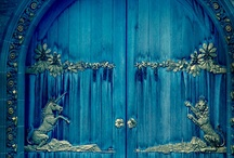 Enchanting Doors / Unique, unusual, ornate, embellished, odd, elaborate and beautiful doors and door surrounds of all kinds. / by Lady Rosabell