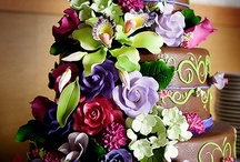 Extravagant Cakes / Extravagant cakes of all kinds from weddings to birthdays to showers to anniversaries and so much more. / by Lady Rosabell