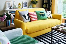 Home again, home again... / Creating a warm, eclectic, family-centered home  / by Heather Mayer