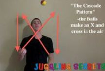 Learn How To Juggle - Juggling Lessons / This board will provide you with resources and information about how to learn how to juggle today.