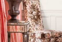 Neapolitan by Design / Palette of pink, brown and white in interiors, furniture, accessories and more.