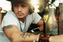 """This will be called """"My Obsession with Johnny Depp"""" board. ♥ / by Celeste Downs"""