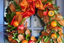 Stylish Christmas Wreaths / Wreaths, swags and garlands designed for Christmas.
