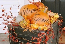 Autumn Dreams / All things autumn or fall in interiors, tablescapes, wreaths and more.