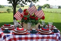 American Holidays / Celebrating American Holidays.  Fourth of July, Memorial Day, President's Day, Veteran's Day