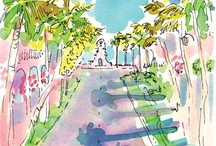 Palm Beach Chic / Palm Beach and preppy style in interiors, fabric, furniture, accessories and more.