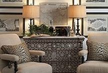 Neutral Elegance / A neutral palette in interior design and decor, furniture, accessories and more.