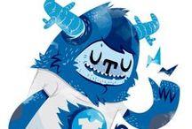 Cute Monsters & Creatures /   / by Empativo Branding Partner