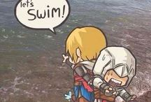 Assassin's creed / Nice and funny assassin's creed stuff. Comics and cool pics.