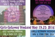 Disney World Girl's Getaway Weekend / Check out our pins about the fantastic Girls Getaway Weekend!! Details and more at http://www.livingwiththemagic.com/girls_weekend/  (sponsored post)