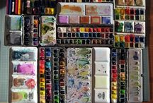 Art : Art Supplies and Materials / by Stephanie Smith