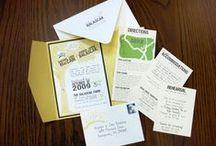 Wedding Invitations / custom wedding invitation designs by Rae Hearts Design