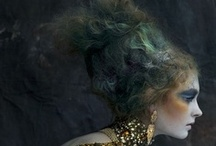 Hair inspiration  / These are the hair/ makeup designs that inspire me as an artist :)  / by DeVore Artistry