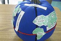 Geography: Where in the World? / Pins to help you teach geography in your homeschool.