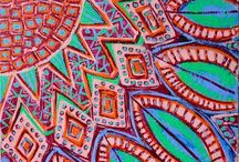aa. Art by Stephanie Smith: Visionary Mystical Sacred Art Expressive Mandala Artist * / Visit me at biffybeans.com :: On Facebook: Stephanie Smith's Mandala Art :: On Twitter: @biffybeans  / by Stephanie Smith