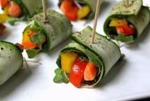 PARTY APPS / Healthy appetizer ideas for parties, get togethers, and food celebrations