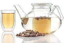 TEA / A board about tea. Food and skin care using tea!