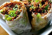 WRAPS + ROLLS / From nori to collards to whole grains -- anything that can roll up is a wrap!