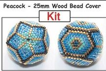 Beaded Bead Patterns / by Bead-Patterns (Sova-Enterprises.com)