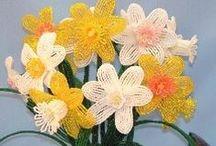 Beaded Flower Patterns / by Bead-Patterns (Sova-Enterprises.com)