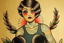 Art & tattoos  / Self explanatory.  / by Courtney Barnes