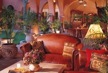 Home Wishes - para mi casa jardín Mexicano / It's all about Mexican decor, pretty pots, rustic furnishings, rooms full of light, lots of books, lots of plants and a beautiful patio or deck filled with Tropicals!  My idea of Heaven! / by Susan Barchard