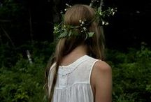 >With Love in Her Eyes and Flowers in Her Hair<