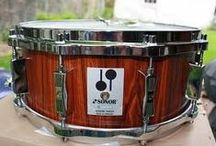 Drums | Snare Drum Heaven / Rogers, Ludwig, Sonor, Truth, Pearl, Tama,  / by Mark New