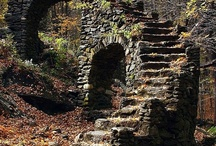 Steps and staircases / Collected for their intrigue and their beauty! / by Susan Barchard