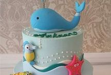 Cake Decoration / I love cake but I wouldn't want to ruin these by eating them.