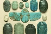Archaeology / Archeological finds from different cultures and times.