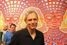 Artist : Alex Grey : Visionary and Mystic Artist : Contemporary Artist