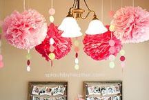 PARTY TIME / Event decorations and ideas