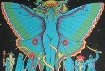 Illustration : 1960's Psychedelic Art Rock Posters
