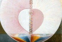 Artist :  Hilma af Klint : Visionary and Mystic Artist : Geometric Abstraction : Theosophy