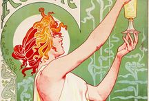 Illustration : Art Nouveau 1890–1910 / by Stephanie Smith