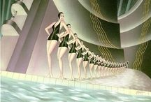 Illustration : Art Deco : 1920s-40s / by Stephanie Smith