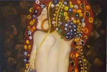 Artist : Gustav Klimt : Symbolism / by Stephanie Smith