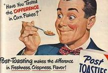 Vintage recipe & food ads / Some interesting ads involving food from my favorite decades! / by Courtney Barnes