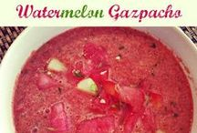 WATERMELON / All things vegetarian and watermelon..perfect for a meatless Summer