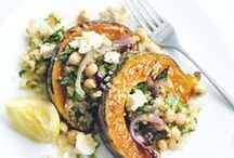 PUMPKIN Love / Vegan and vegetarian pumpkin inspired foods!