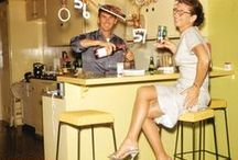 1950s/60s cocktail parties / People having fun in the raddest of decades! / by Courtney Barnes