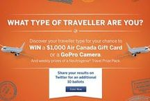What type of Traveler Are you? #DukoralContest / What kind of traveler are you? Find you and be entered to win $1000 Air Canada Gift Card, Go Pro Camera and weekly prizes at http://www.bitly.com/FBDukoral #dukoralcontest  / by Women in Biz Network