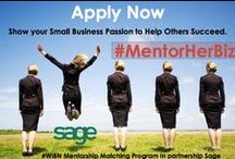 #WIBN MentorHerBiz Program - Grassroots Mentorship Program for Women Biz Owners / Did you know that 70% of small businesses that receive mentoring survive for five years or more, which is double the rate compared with non-mentored entrepreneurs? Did you also know that small businesses that receive mentoring are 20% more likely to experience growth than those that don't (source: the Small Firms Enterprise Development Initiative).  Apply here: http://www.mentorherbiz.com  / by @WomenBizNetwork