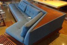 Mid-Mod sofas / by Courtney Barnes