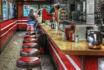 Old School Diner Style / Eateries with mid century flavor!  / by Courtney Barnes