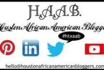Houston African American Bloggers / All of the posts in one place from the members of the Houston African American Bloggers group.  / by Vernetta R Freeney