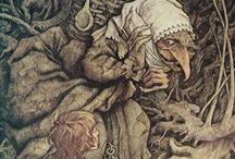 Folklore / Illustrated folklore and mythology.
